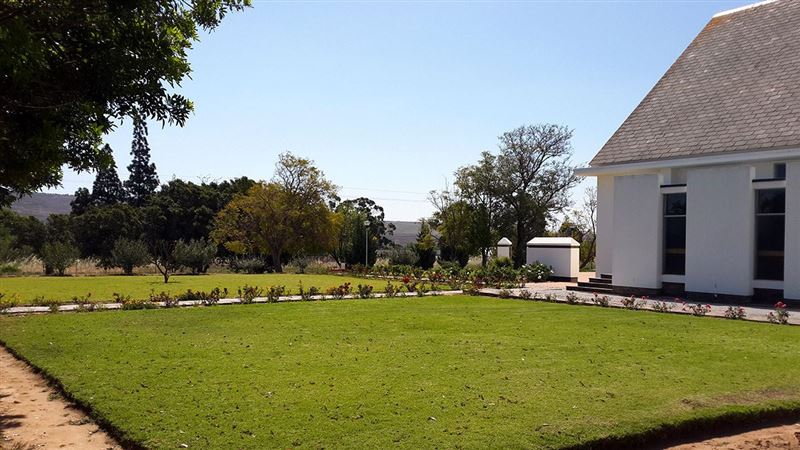 The Church garden in Klawer