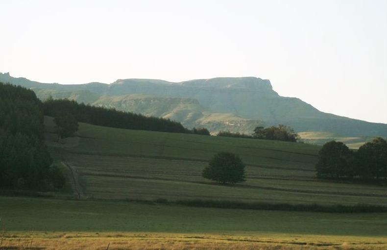 Drakensberg seen from Ugie