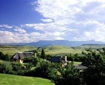 The view from the Garden Suites © Montusi Mountain Lodge