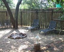 Lourie cottage barbecue area