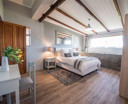 Bedroom over looking the dam