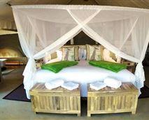 Bedroom © Tuli Safari Lodge