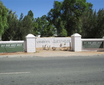 Entrance from Van Riebeeck Str