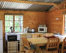 Communal Cabin Kitchen