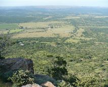 Scenic view from the top of Magaliesberg.