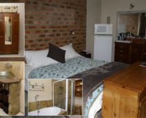 Double room with bath and shower.