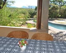 View from the dining room patio © Maduma Boma