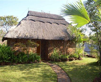 Single-storey lodge