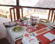 Dining at Gorges