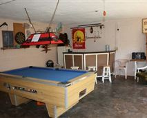 The pool table is coin operated so bring R2 coins.