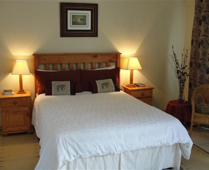 An inside view of one of our comfortable and spacious rooms.