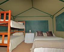 Four-sleeper Tent on Stilts
