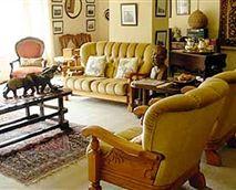 Communal lounge.