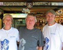 In their Kudu Ridge T'shirts