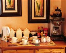 Tea and coffee-making facilities