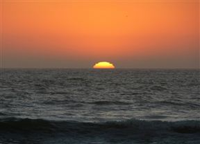 Skeleton Coast sunset