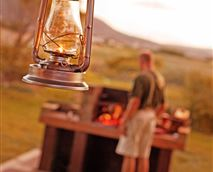 Braai area © Horizon Cottages