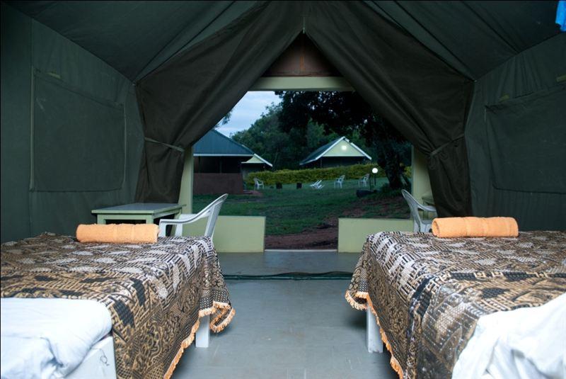 Rhino Tourist Camp in Kenya