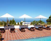 Pool deck overlookingthe Atlantic Ocean