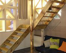 Interior- stairwell to upper level