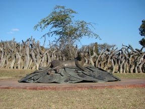 Zulu Monument at Rorke's Drift