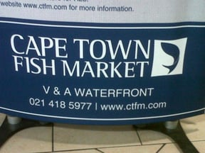 Cape Town Fish Market V & A Waterfront