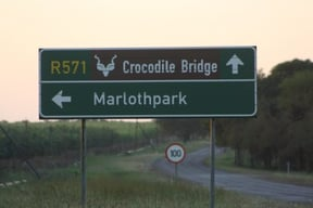 Krugerpark Crocodile Bridge Gate