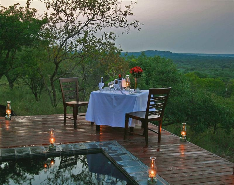 Zwahili Game Lodge, Tuinplaas