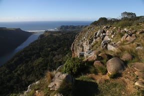 View from the Mountain facing the beach