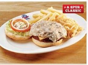 Cheddamelt Burger