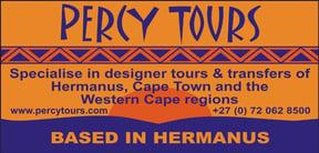 Percy Tours, Transfers, Activities in Hermanus