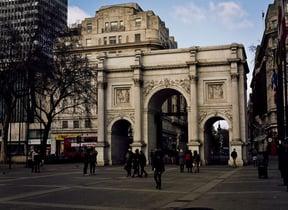Marble Arch, Hyde Park, London