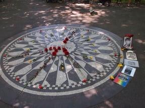 Strawberry Fields, John Lennon Memorial