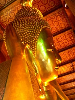 Bangkok - Wat Pho, the Temple of the Reclining Bud