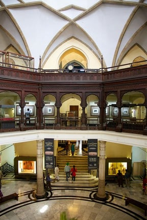 Atrium of the Prince of Wales Museum