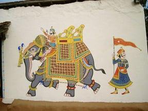 Graffiti Udaipur Style, Shilpgram