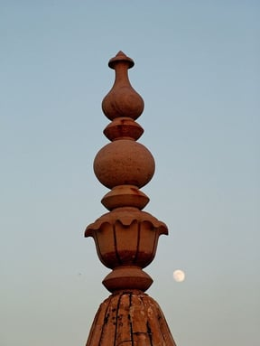 Moon at Nahargarh