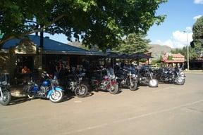 Popular with bikers