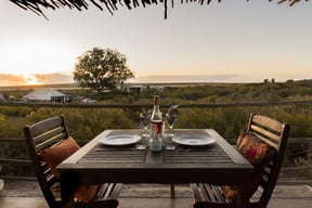 Thali Thali Game Lodge Luxury Tent Patio