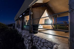 Thali Thali Game Lodge Luxury Tent Exterior