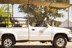 Thali Thali Game Lodge Game Drive Bakkie