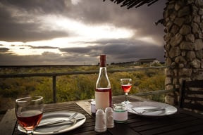 Thali Thali Game Lodge Luxury Tent Patio 2