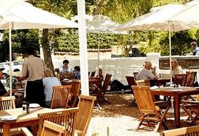 Simon's Restaurant terrace