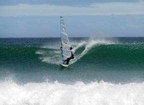 Windsurfing at Witsands Beach