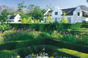 Steenberg Manor House garden