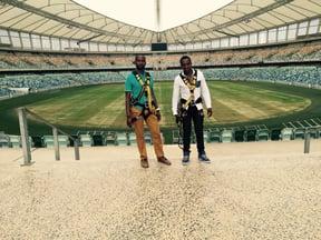 Big Swing, Durban Stadium