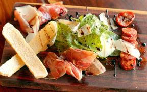 Italian & Spanish cured meat platter