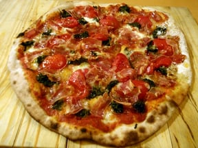 Pancetta Pizza