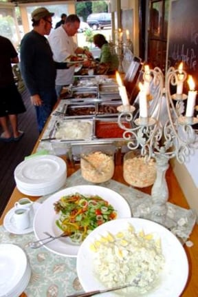Buffet is an option other that the a la Carte Menu for Groups larger than 25 guests
