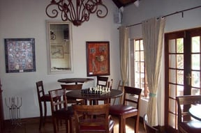 This is the place to relax and have a game of chess or cards while sipping your favorite beverage and chatting to friends